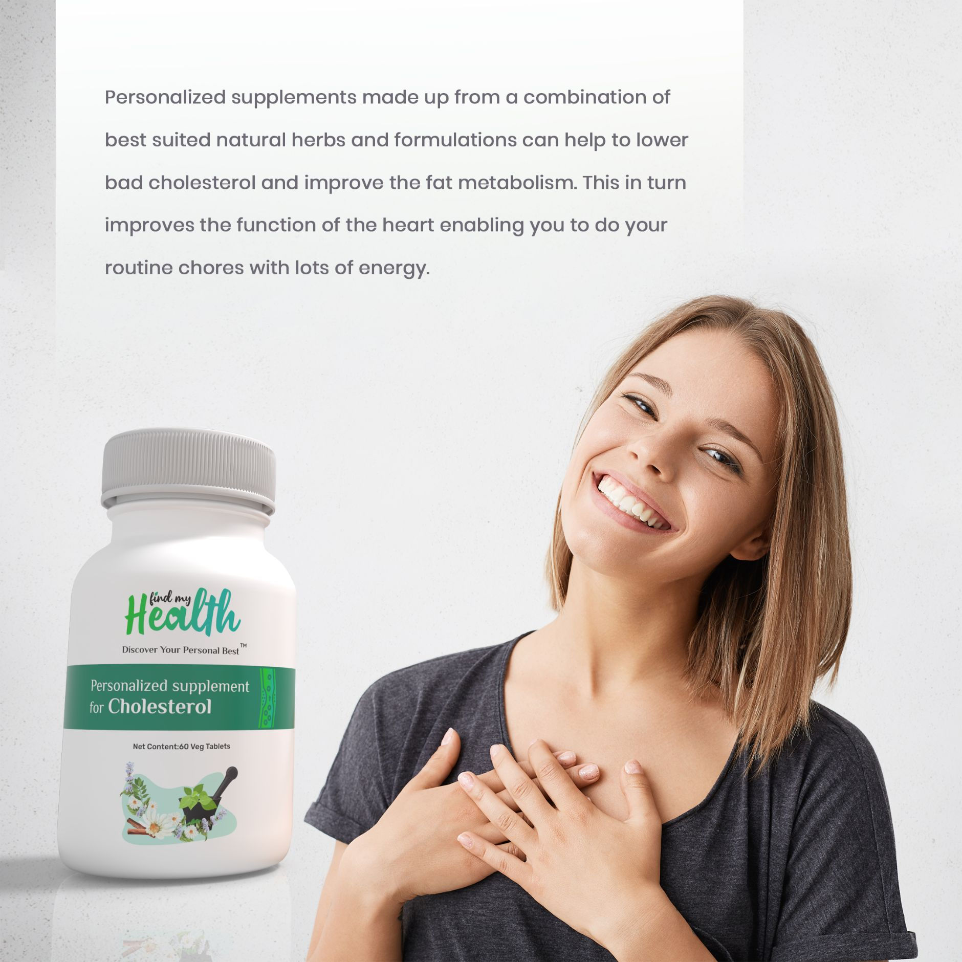 Personalized supplement for Cholesterol
